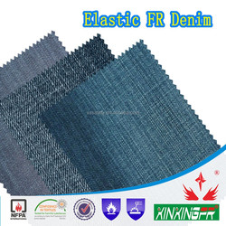 480gsm cotton FR denim fabric for workwear