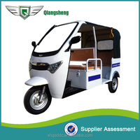 2015 new design elegant six seater battery operated taxi tuktuk made in china