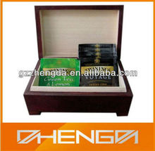 High Quality Customized Made-in-China Fashionable Tea Brand Box for Sale(ZDW13-T050)