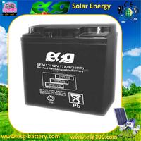 Green Energy 12V 17ah Agm Solar Sealed Lead Acid Battery