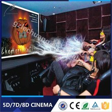 2015 Factory Price Supplier 3D Glasses 6/9/12 Seats Animation Movie