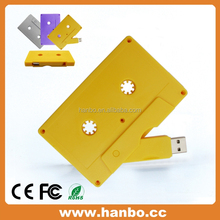 Password Cheap Plastic USB Flash with Tape Shape