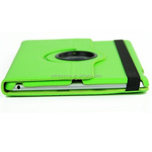360 degree rotating leather case for ipad 6 ipad air 2