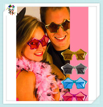 Cheap Plastic Colors Star Shaped Party Glasses HPC-2237