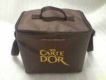 oxford+2mm alu foil insulated Cooler Bag with embroider logo