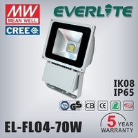 Projector 70w,80w,100w bright led flood light for stadium