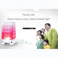 DIY Block Light Your Life Long Companion Family Loving Light Gift Series