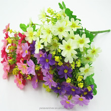 Rural simulation flowers sitting room adornment flowers, silk flowers plastic flower art only dance little Daisy flowers wholesa