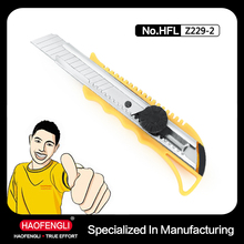2015 Promotion Safety Cutter Knife for Build Field Application Knife Types