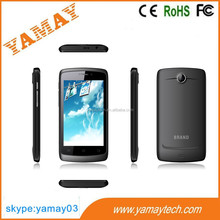telefonos cellulares OEM ODM Alibaba Supplier 1.2GHz Dual Core 3g dual sim mtk6572 4 inch android 4.2