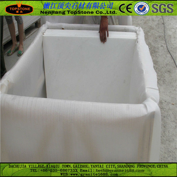 Chinese nice pure white marble hotsale in 2014