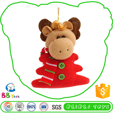 Newest Hot Selling Premium Quality Funny Plush Toy Quality Christmas Ornament