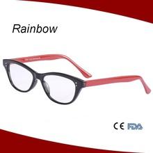 Brand name eyeglass frames cat eye reading glasses for ladies