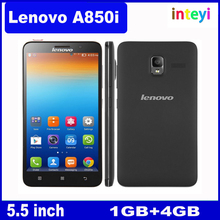 Lenovo A850i Smart Phone MTK6582 Quad Core RAM 1GB + ROM 8GB 1.3GHz 5.5 inch, WCDMA & GSM Network Dual SIM Cell Phone