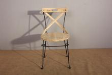 2015 Hot Sale X-CROSS metal frame make up chair