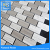 12x12 grey marble subway tile for Kitchen Backsplash