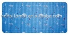 PVC anti slip bath mat