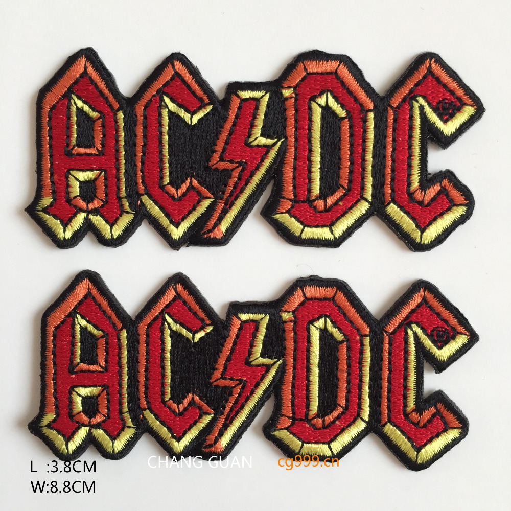 The Clothing Letter Embroidered Iron On Patches - Buy Embroidered Iron ...