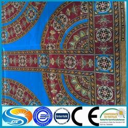 wholesale african batik wax polyester fabric