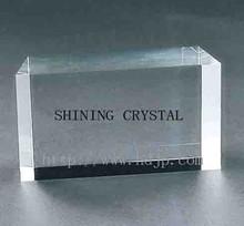 Wholesale Top-Grade K9 Blank Block Crystal For Laser Engraving Guest Design-12