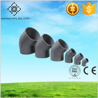 factory direct price plastic 45 degree elbow fitting