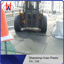 Pe Material Road Mats, Rig mats, access roads/HDPE engineering plastic ground mats manufacturer