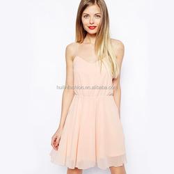hot sale simple model chiffon dress models summer dresses of chiffon
