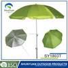 manual open outdooe china beach umbrella with Tilt and Carrying Bag