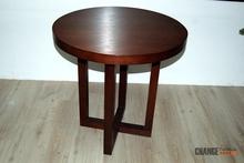 Sheeham Round Teak Wood Coffee Table