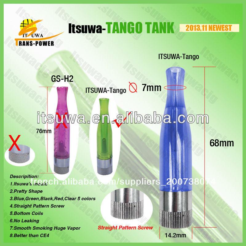 Tango itsuwa e nouvelle cigarette aga atomiseur. reconstructible