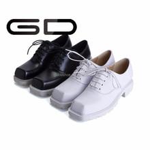 square toe black sneaker platform comfortable running shoes