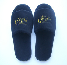 Terry cloth disposable hotel slippers