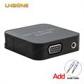 Chapado en oro 24K HDMI macho a VGA hembra cable