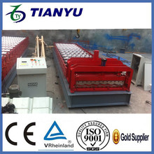double layer decker tiles rolling machine / corrugated zinc roofing sheet roller former making machines