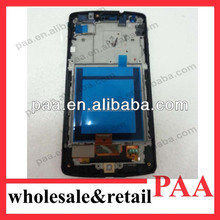 Wholesale good price original mobile phone lcd touch screen for lg google nexus 5 D820