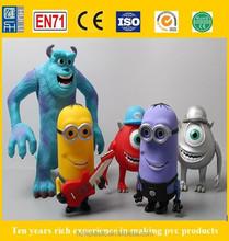 rotocasting vinyl decorating toy, soft vinyl rubber toys, custom diy vinyl action figure