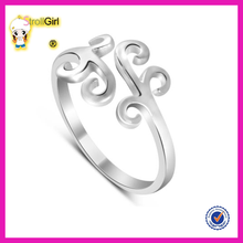 Fashoin jewelry wholesale adjustable rings high quality adjustable wedding rings for women