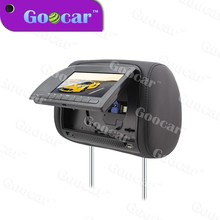 2015 multi-function Compatible with DVD/CD/CDG/MP4/MP3/WMA/JPEG/RMVB(MP5) Car LCD Headrest