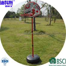 Indoor PE Base Basketball Stand/Steel Basketball Rim Stand