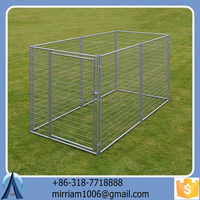2015 Baochuan characteristic hot sale large outdoor dog kennel/pet house/dog cage/run/carrier