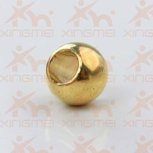 brass bead jewelry accessory jewelry finding Two Hole Diameter 8mm Hole 4mm