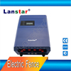 Anti-climb security perimeter electric fence system,six lines aluminum alloy wires protection