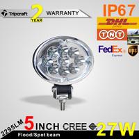 Wholesale 27w led work light, led worklight 27w for fog driving , 27w led work lamp offroad suv atv heavy duty led driving light