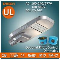 American UL/Dlc Aluminium 40W Led Street Light