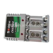 NiMH Ni-MH 3A AA AAA 9V US Plug AC Home Wall Power Battery Charger