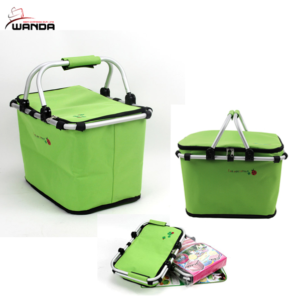 Picnic Basket Jakarta : Insulated market basket or picnic tote for perfect