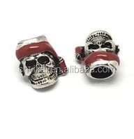 Dongguan YiKai paracord beads skulls, Chrome skulls,metal alloy skull beads