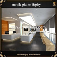 mobile phone store visual display and cell phone accessory display rack