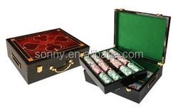 High Class Custom Las Vegas Poker Chips Box Set