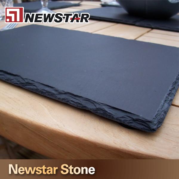 black stone plate slate placemats and coasters slate coasters buy